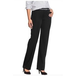 Old Navy Straight Leg Black Dress Pants Size 6